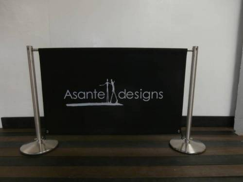 Acrylic Canvas Cafe Banners