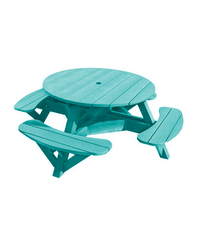 Picnic Tables With Coloured Frames